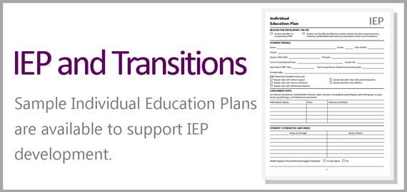 Special Education – Sample Transition Plan